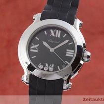 Chopard Happy Sport Otel 36mm Negru