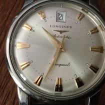 Longines Conquest Heritage Steel 35mm Silver No numerals