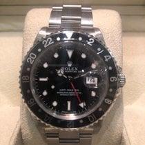 Rolex GMT-Master Acero 40mm Negro Sin cifras