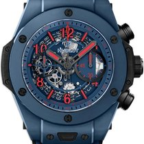 Hublot Ceramic Automatic Blue Arabic numerals 45mm new Big Bang Unico