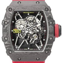 Richard Mille Carbon Automatic Transparent 50mm pre-owned RM 035