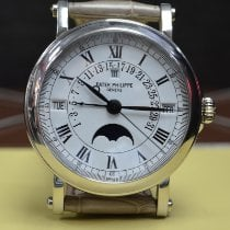 Patek Philippe Perpetual Calendar White gold 36mm White Roman numerals United States of America, New York, New York