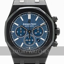 Audemars Piguet Royal Oak Chronograph Сталь 41mm Синий