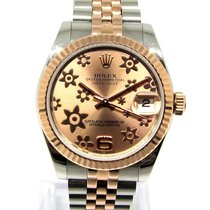 Rolex Lady-Datejust Or/Acier 31mm Rose