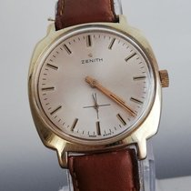 Zenith Stellina Or jaune 35.8mm Blanc Sans chiffres
