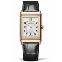 Jaeger-LeCoultre Rose gold Manual winding Silver 40.1mm new Reverso Classique