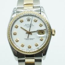 Rolex Oyster Perpetual Date Gold/Steel 34mm White No numerals United States of America, Florida, Miami