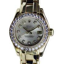 Rolex Lady-Datejust Pearlmaster 29mm Plata