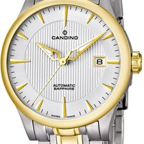 Candino new Automatic Steel Sapphire Glass