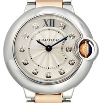 Cartier Ballon Bleu 18K Rose Gold Diamonds