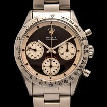 Rolex Daytona 6239 Paul Newman dial with papers and ROLEX SERVICE