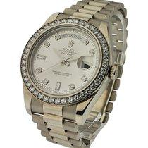 Rolex Unworn 218349 Day-Date II President - Diamond Bezel -...
