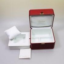 Cartier Uhrenbox mit Schmuckfach undBeschreibungsheft