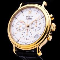 Zenith El Rimero Chronograph Automatic Date Glasboden Herrenuhr
