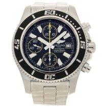 Breitling Superocean A13341 - Gents Watch - Black Dial - 2013