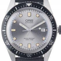 Oris Divers Sixty-Five Stahl Automatik Armband Kautschuk 42mm...