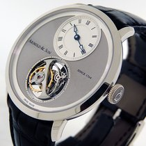 Arnold & Son UTTE Palladium 42mmmm Grey Roman numerals United States of America, California, Los Angeles