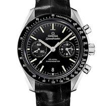 Omega Oro blanco Automático Negro 44.2mm nuevo Speedmaster Professional Moonwatch