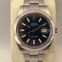 Rolex Datejust II 116300 Blue dail / 41mm