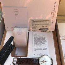 IWC Portuguese Chronograph Stål 41mm Sølv Arabisk