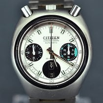 Citizen Chronograph 38mm Automatic 1970 pre-owned Silver