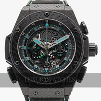 Hublot King Power Karbon 48mm Černá