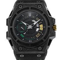 Linde Werdelin 44mm Automatic 2017 pre-owned SpidoLite Black