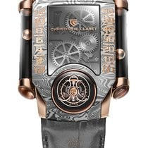 Christophe Claret 40.8mm Manual winding new Silver