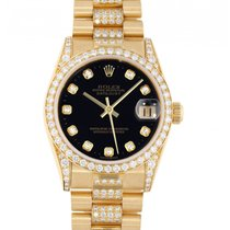 Rolex Datejust 78158 Very good Yellow gold 31mm Automatic