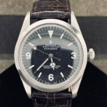 Rolex pre-owned Automatic 36mm Black Plexiglass 10 ATM