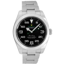 Rolex Air King Steel 40mm Black Canada, Vancouver