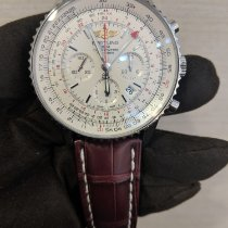 Breitling Navitimer GMT Steel 48mm Silver United States of America, Connecticut, Stamford
