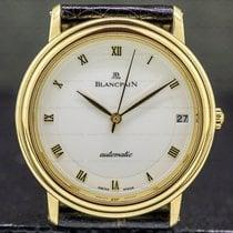 Blancpain Villeret Ultra-Slim Yellow gold 33.5mm Roman numerals United States of America, Massachusetts, Boston