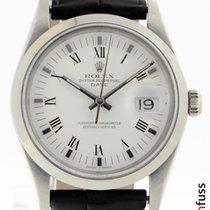 Rolex Oyster Perpetual Date Stahl 35mm Weiß Deutschland, Stuttgart