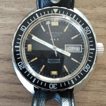 Longines Record pre-owned 40mm Date Weekday Plastic