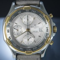 Michel Herbelin Gold/Steel 44mm Automatic A 7750 pre-owned