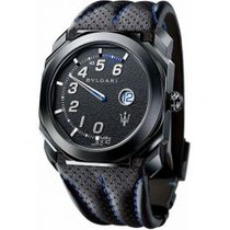 Bulgari Octo Steel 41mm Black Roman numerals United States of America, Pennsylvania, Holland