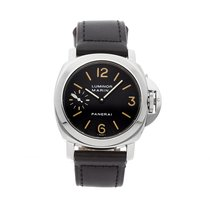 Panerai Luminor Marina Сталь 44mm Чёрный Aрабские