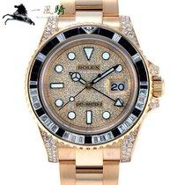 Rolex 116758SA Zuto zlato 2010 GMT-Master II 40mm rabljen