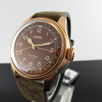 Oris Big Crown Pointer Date Bronze 40mm Brown Arabic numerals