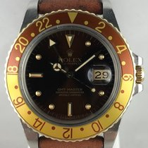Rolex GMT-Master 16753 Very good Gold/Steel 40mm Automatic