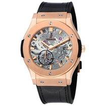 Hublot Classic Fusion Ultra-Thin Rose gold 42mm Transparent United States of America, New York, Brooklyn