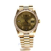 Rolex 18238 Yellow gold 1988 Day-Date 36 36mm pre-owned United States of America, Florida, Key Largo