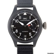 IWC Big Pilot Top Gun Ceramic 48mm Black No numerals