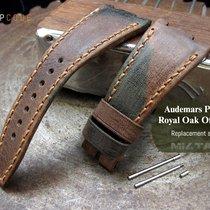 MiLTAT AP Royal Oak Offshore Leather Band, Camo Pattern