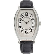 Patek Philippe Gondolo Platinum 32mm Silver Arabic numerals United States of America, New York, New York
