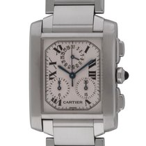 Cartier : Tank Francaise Chronograph :  W51001Q3 :  Stainless...