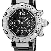 """Cartier 42mm """"Pasha de Cartier"""" Seatimer Chronograph."""