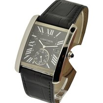 Cartier W5330004 Tank MC with Small Seconds in Steel - on...