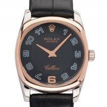 ロレックス (Rolex) Cellini Danaos Lady 18kt Weißgold Roségold Quarz...